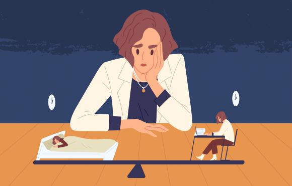 Alegere între somn și muncă
