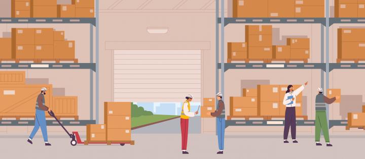 Logistică, produs în mișcare