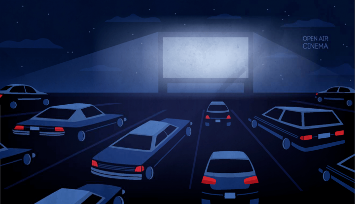 Film în aer liber