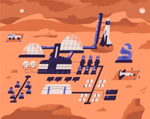 Omul și vulnerabilitatea unui viitor incert - Marte