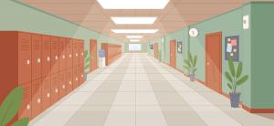 Coridor de școală
