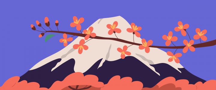 Muntele Fuji - Concept despre efortul de a ajunge sus