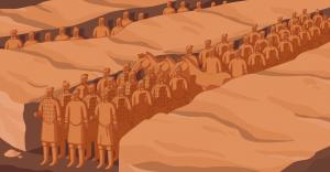 Istorie - Soldați de teracotă din China Antică
