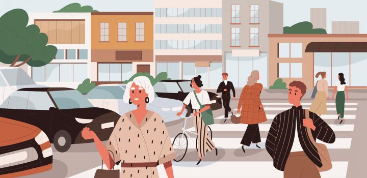 Societate, comunitate într-un oraș
