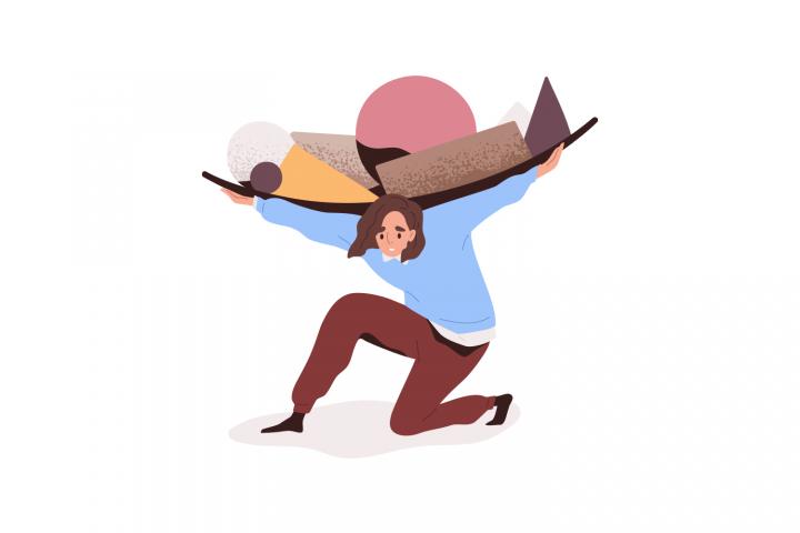 Ilustrația conceptului de muncă