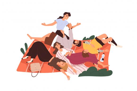 Grup de prieteni