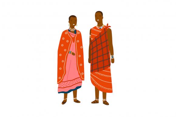 Cuplu african